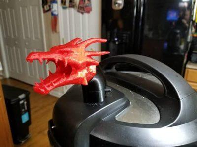 Dragon Instant Pot dragon head steam vent cover