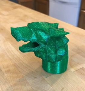 Game of Thrones Wolf Instant Pot dragon head steam vent cover