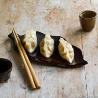Vegan Instant Pot Steamed Vegan Dumplings