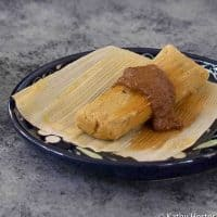 Pumpkin Instant Pot Tamales with No Oil Added