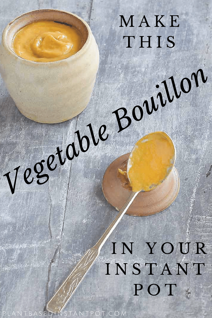 It's so easy and inexpensive it is to make your own Vegan Instant Pot Bouillon! You just need a few veggies and herbs plus a little inspiration.