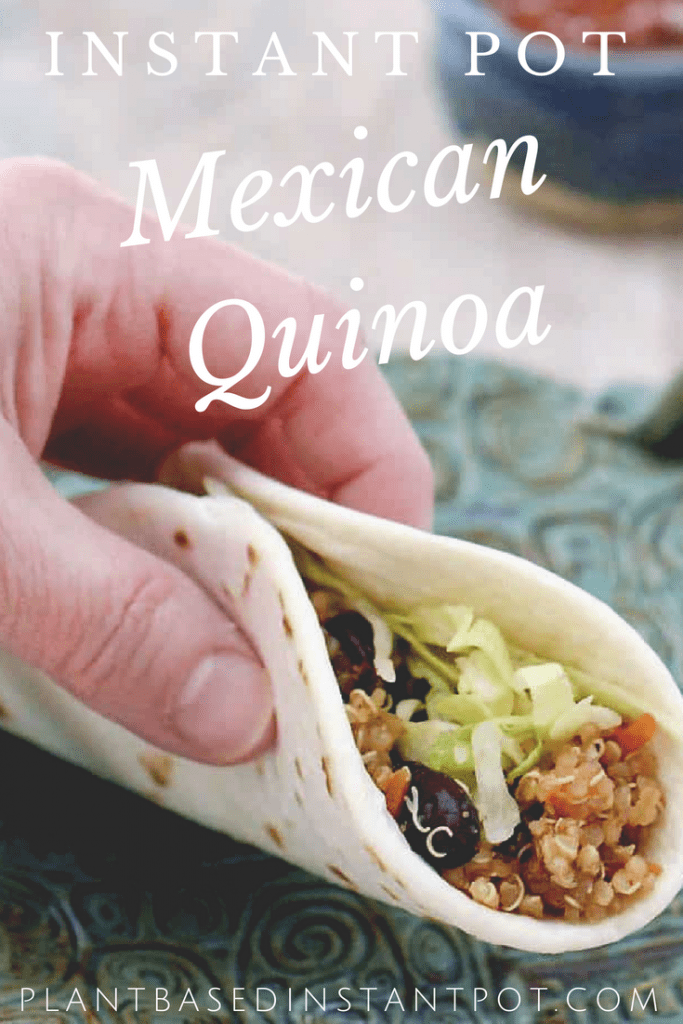 Instant Pot Mexican Quinoa with Black Beans