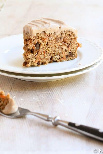 Instant Pot Carrot Cake Sweetened with Dates