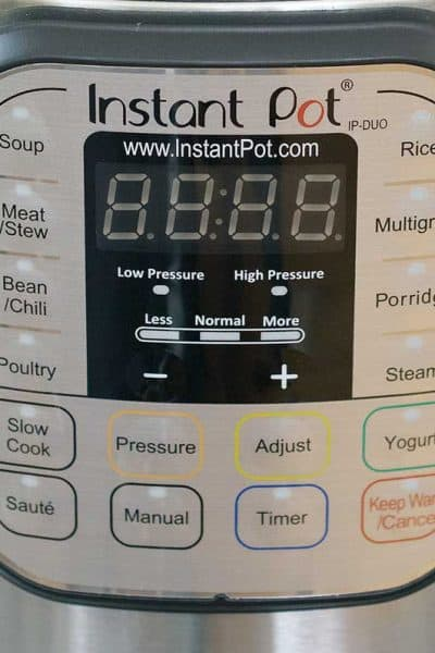 Learn the Most Used Instant Pot Buttons
