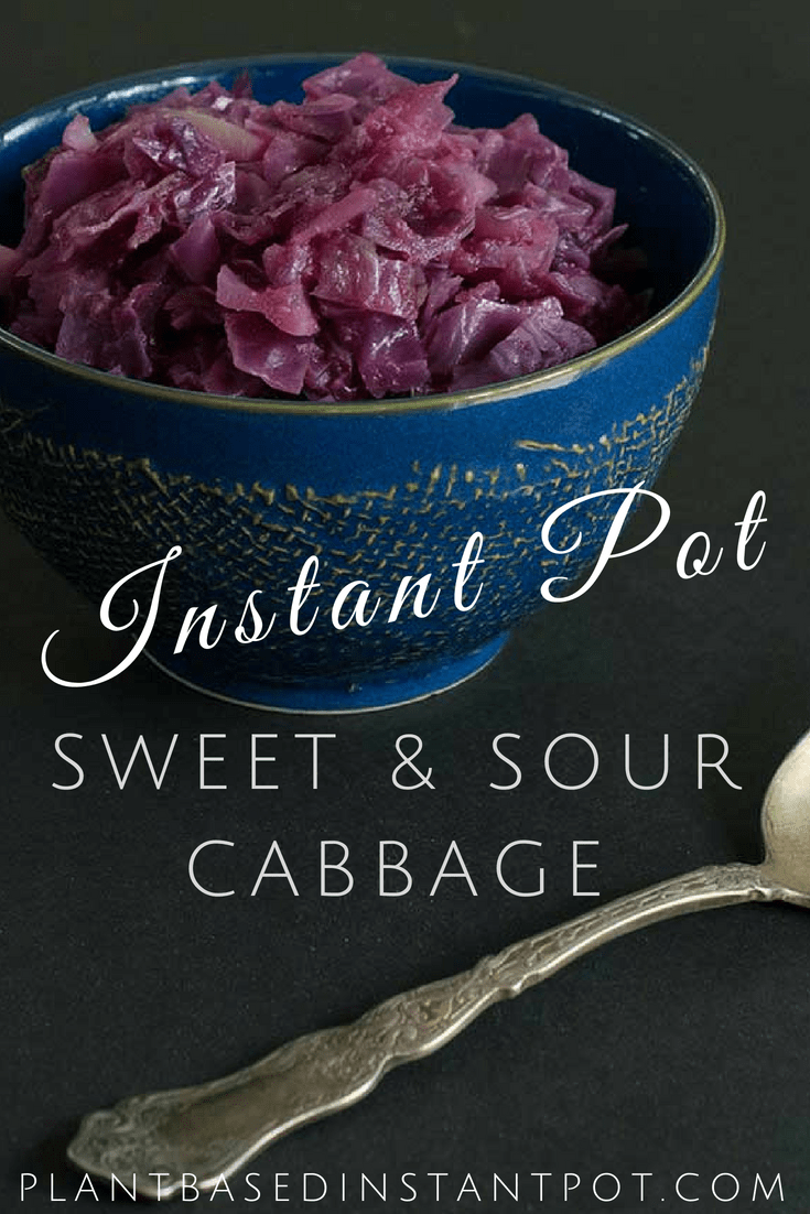Instant Pot Sweet and Sour Cabbage