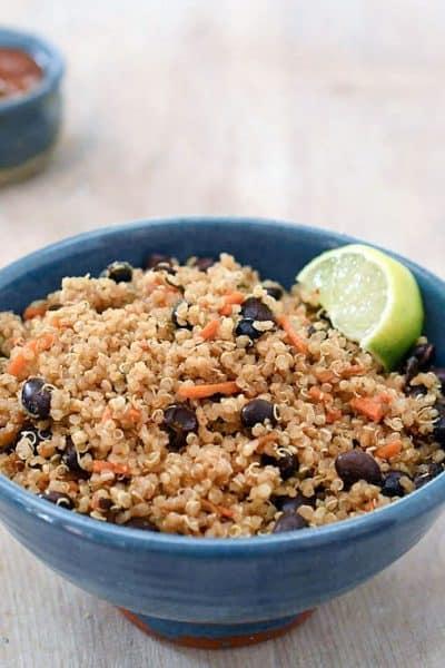 Instant Pot Mexican Quinoa with Black Beans