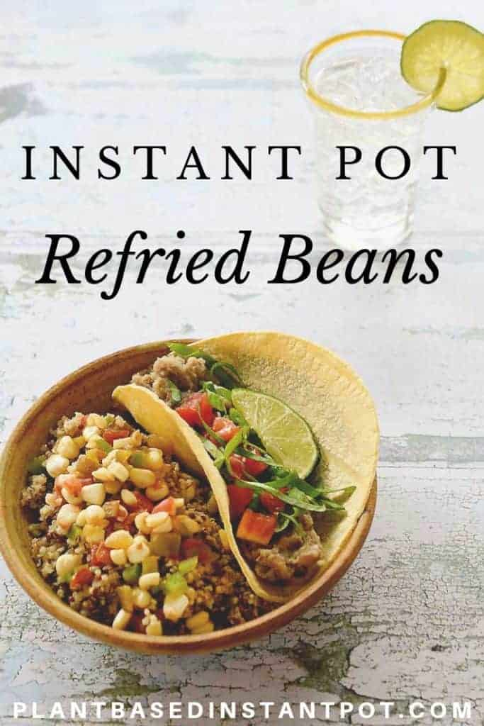 Instant Pot Refried Mayacoba Beans