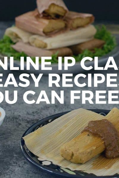 Online Instant Pot Class: Easy Recipes You Can Freeze