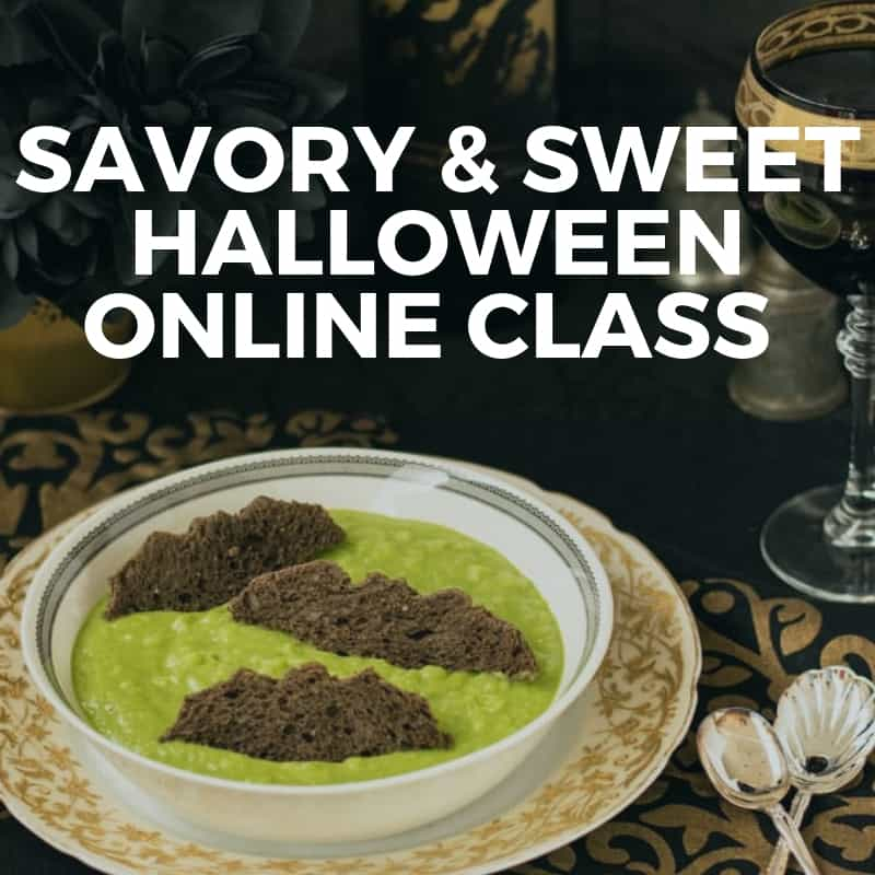 Online Class: Savory and Sweet Halloween Recipes
