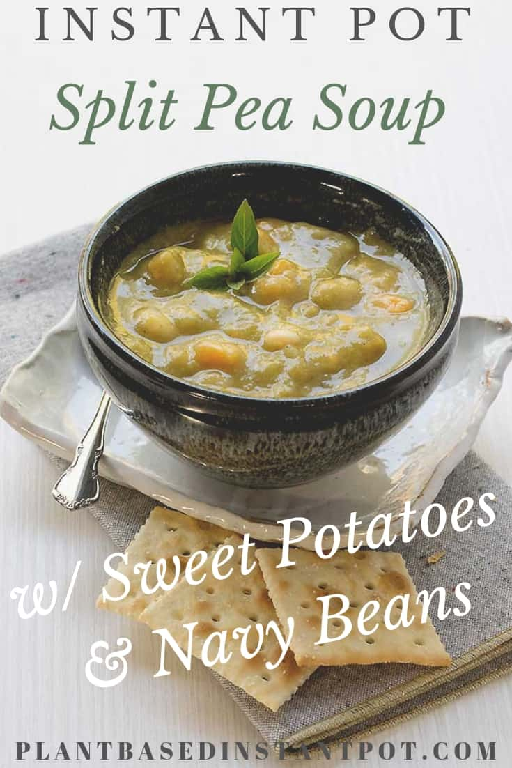 w/ Sweet Potatoes & Navy Beans