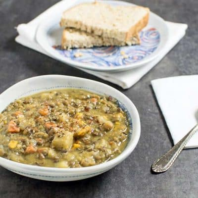 Instant Pot Lentil Vegetable Soup