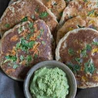 Easy Instant Pot Uttapams: Savory Indian Pancakes