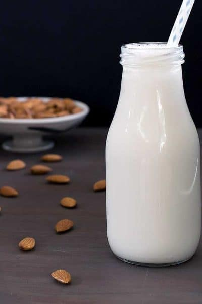 Homemade Instant Pot Almond Milk Recipe