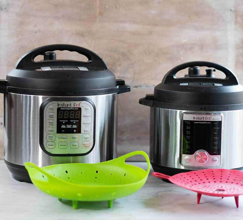 What steamer inserts should I use? 2 silicone steamers with handles