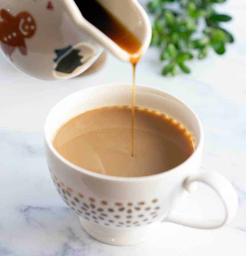 Instant Pot Gingerbread Syrup