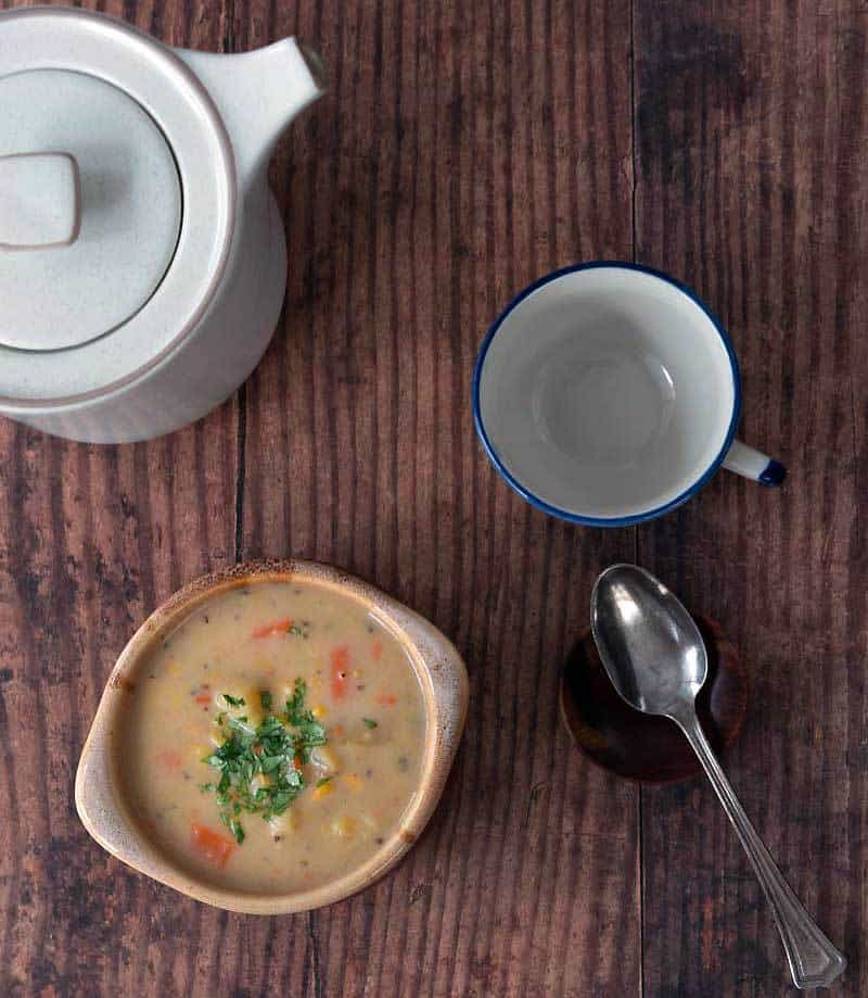 Easy Instant Pot Corn Chowder