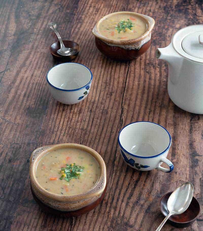 Easy Instant Pot Corn Chowder