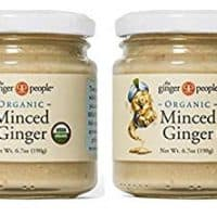 Organic Minced Ginger - Made in Fiji - Pack of 2