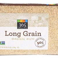 365 Everyday Value, Long Grain Brown Rice, 5 Pound