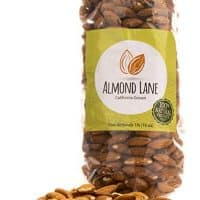 Almond Lane | Whole Raw Almonds | California Grown | All Natural & Non-GMO | Steam Pasteurized (1 Bag)