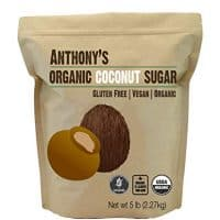 Anthonys Organic Coconut Sugar 5lbs, Non-GMO and Gluten Free