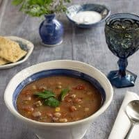 Instant Pot Vegetable Soup with Teff
