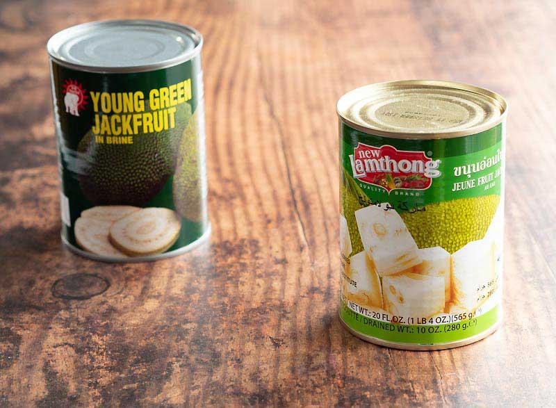 Jackfruit in cans