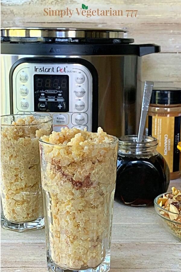 Instant Pot Vegan Quinoa Breakfast Recipe