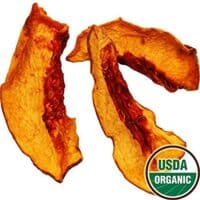 Organic Dried Yellow Peaches, 8oz