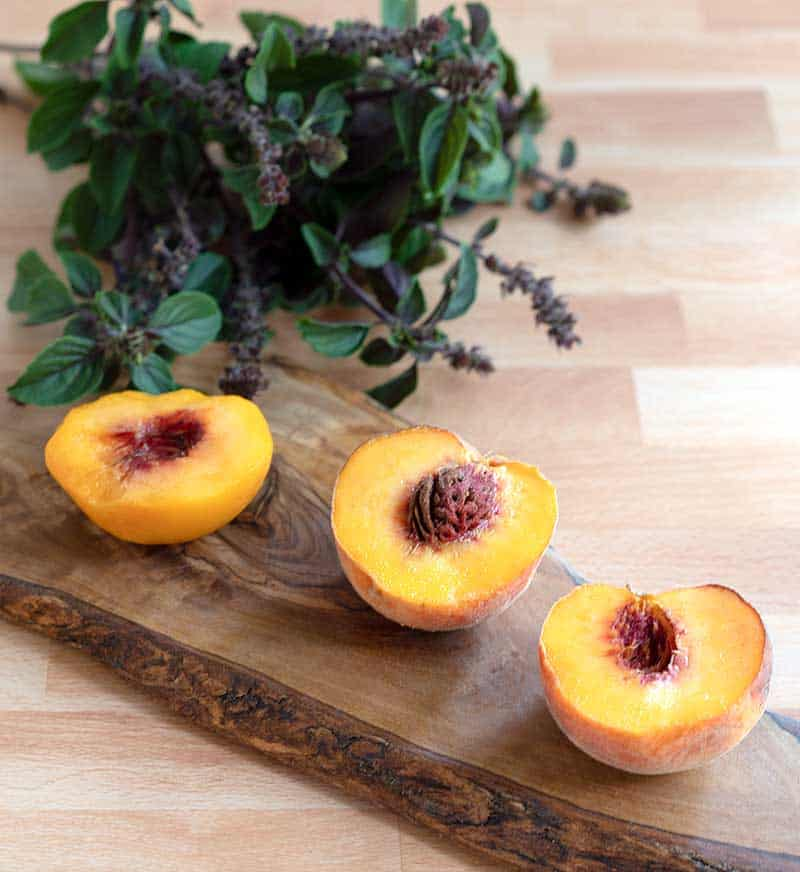 Instant Pot Peach Infused Water