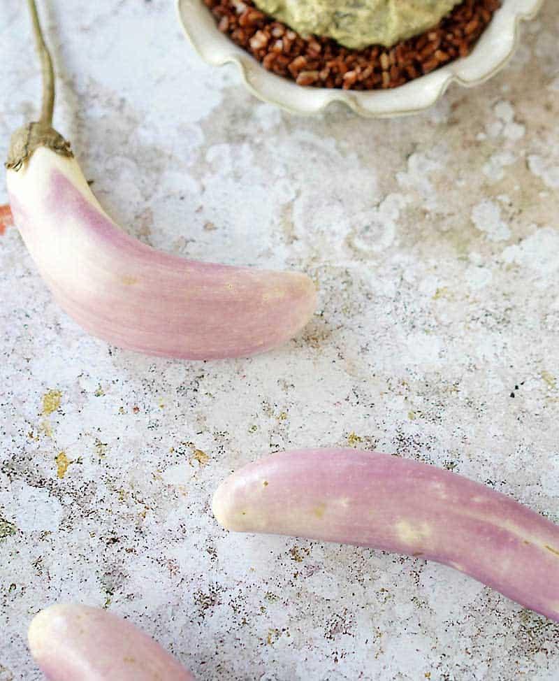 Thai Style Eggplant Mushroom Stew w/ Tofu