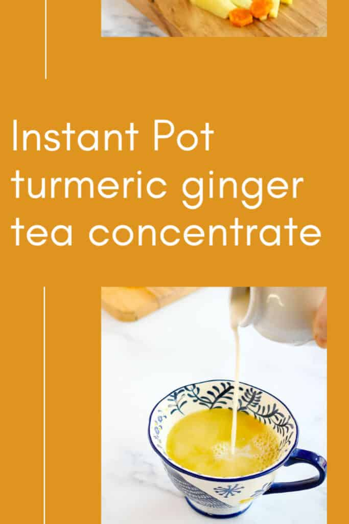 IP Turmeric ginger tea